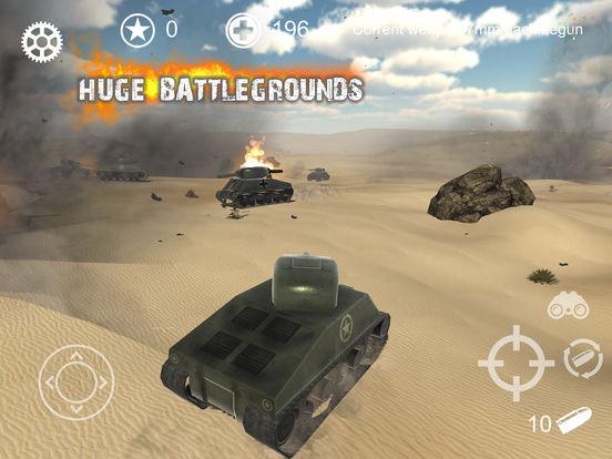 Screenshot 1 Realistic Battle Tank