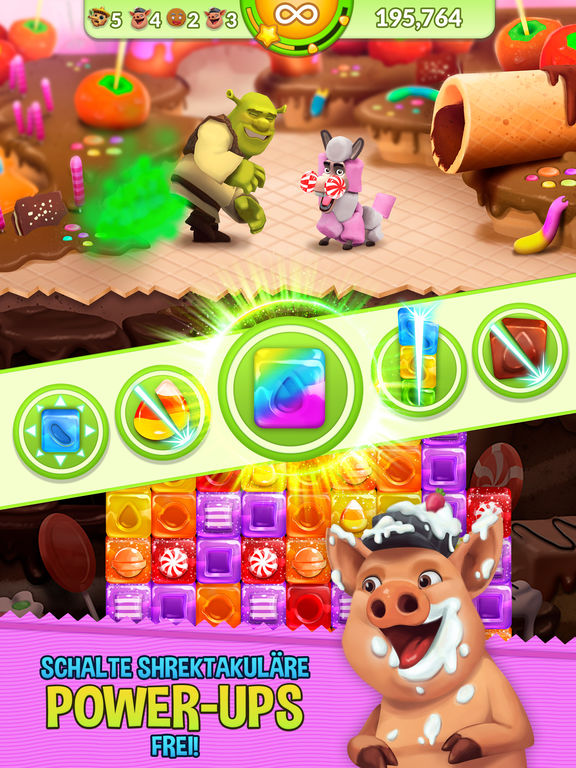Screenshot 4 Shrek Sugar Fever