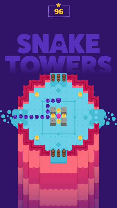 Snake Towers iOS Screenshots