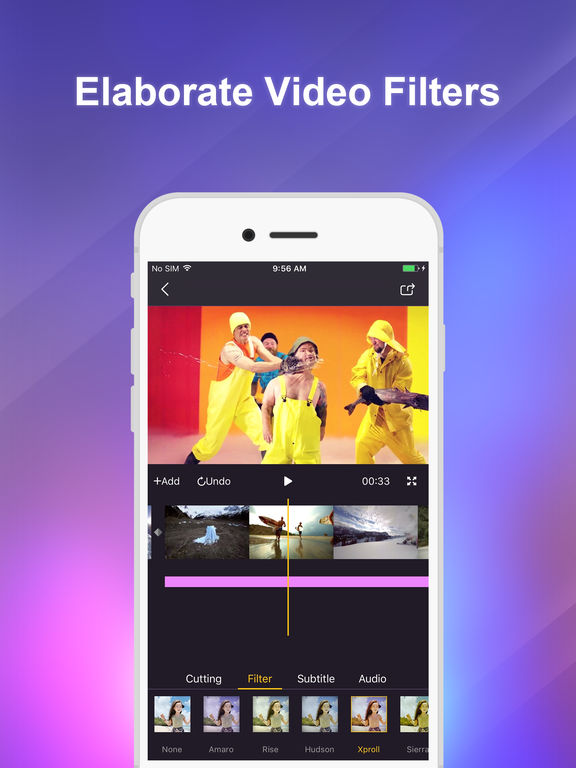 CoolPixel - Amazing Video Editor Screenshot