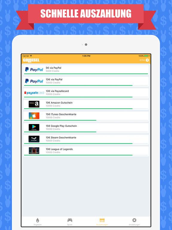 apps um geld zu verdienen