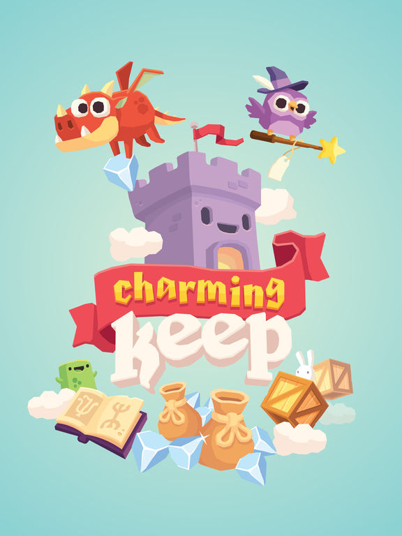 Charming Keep - Collectable Tower Tapper iOS Screenshots