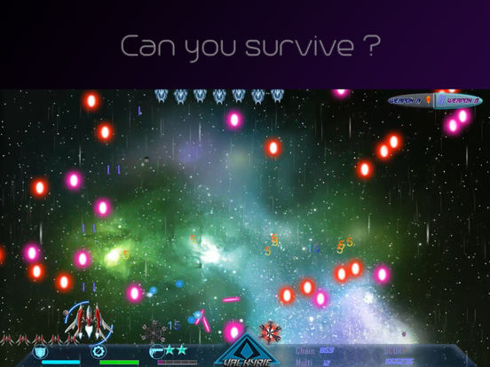 Screenshot 2 Beyond Black Space Valkyrie