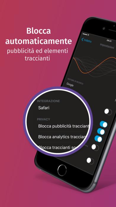Firefox Focus: il browser per la privacy Screenshot