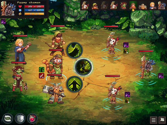 Dungeon Rushers iOS Screenshots
