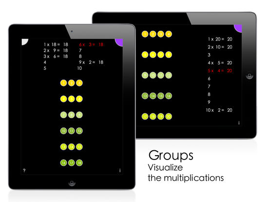 Visual Multiplication Table Screenshots