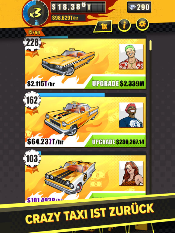 Screenshot 2 SEGA: Crazy Taxi Gazillionaire