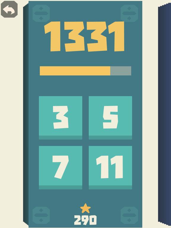 Screenshot 1 Prime Division - Zahlenspiel