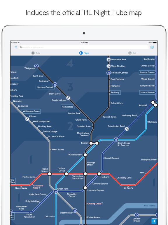 Tube Map - London Underground Routes Screenshot