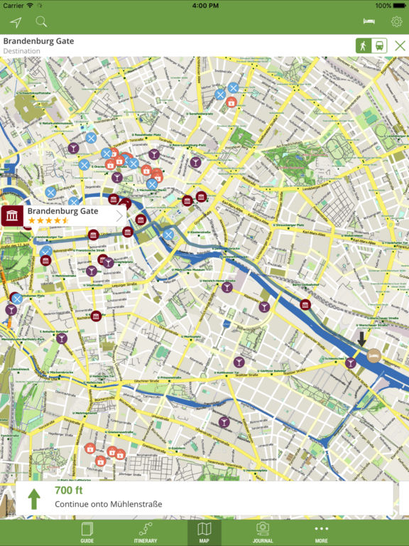 Berlin Travel Guide (with Offline Maps) - mTrip Screenshots