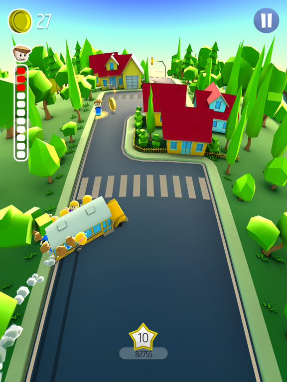 Drifting School Bus iOS Screenshots