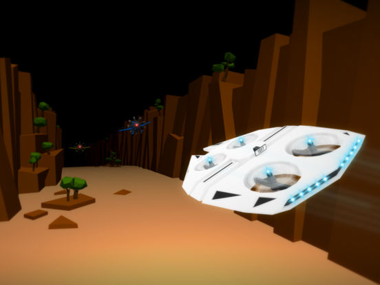Screenshot 3 Drone Racer : Canyons
