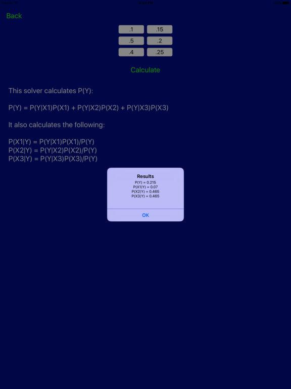 Probability Pro Screenshot