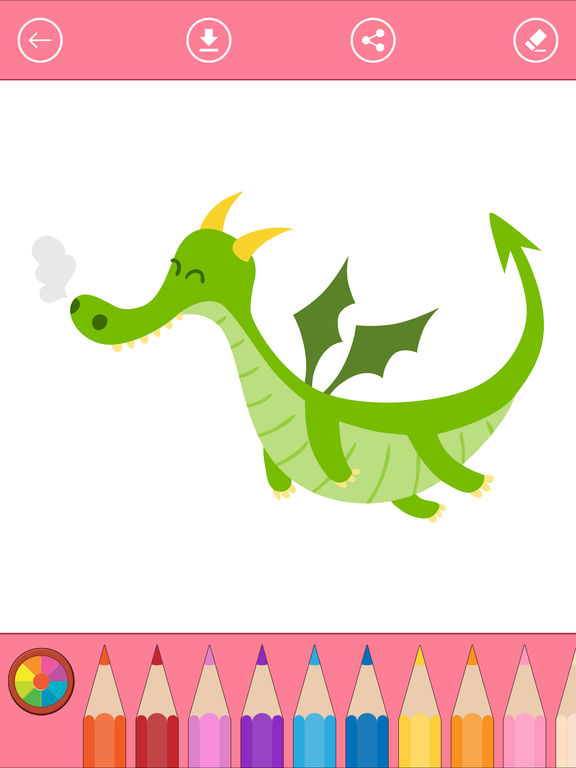 Fantasy Malbuch für Kinder und ausmalen lernen Bei Proton Le