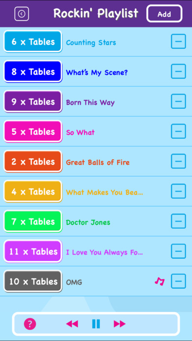 download Maths Rockx EDU - Times Tables! appstore review