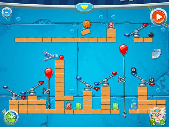 Rube's Lab - Physics Puzzle Screenshots