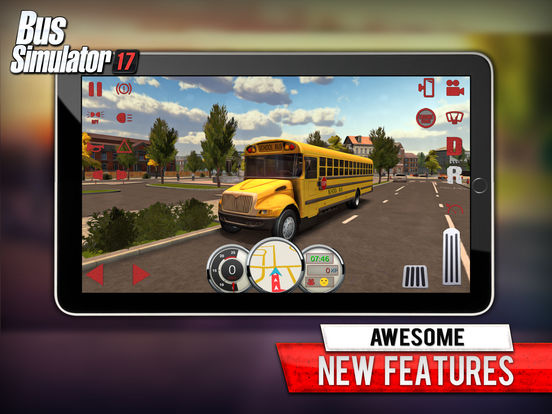 Screenshot 1 Bus Simulator 17