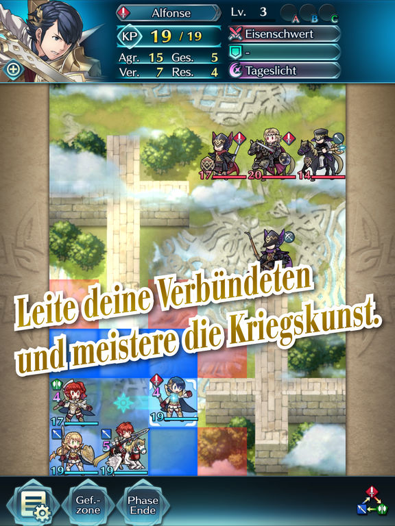 Fire Emblem Heroes iPhone iPad