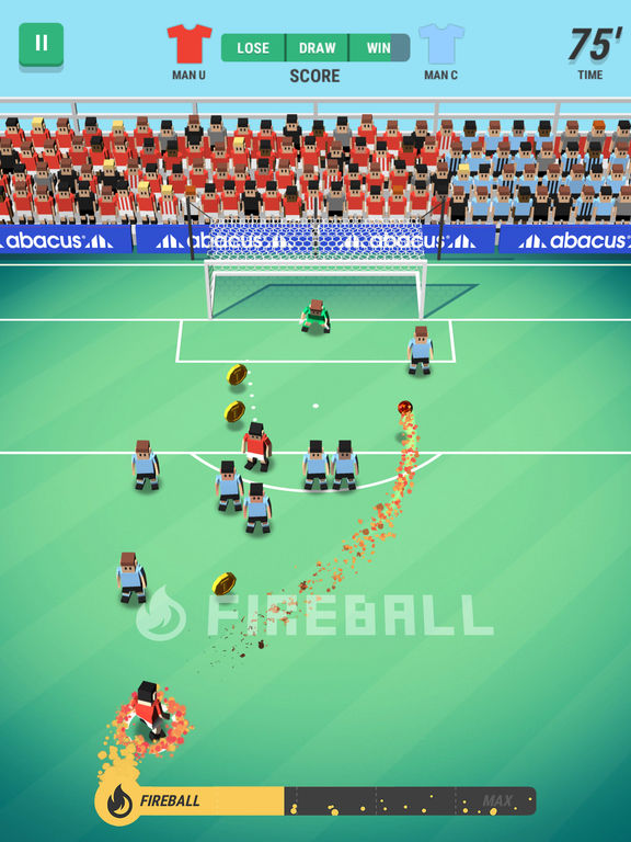 Screenshot 3 Tiny Striker: World Football