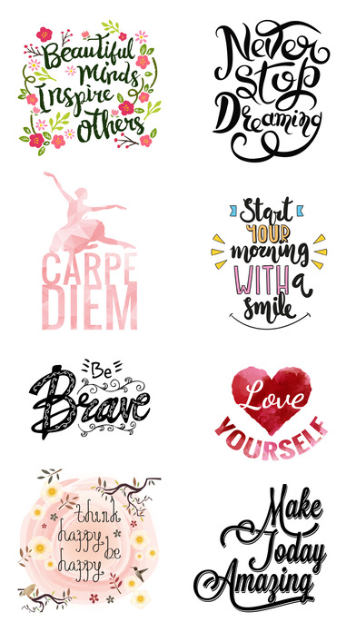 Motivation Sticker Pack for iMessage