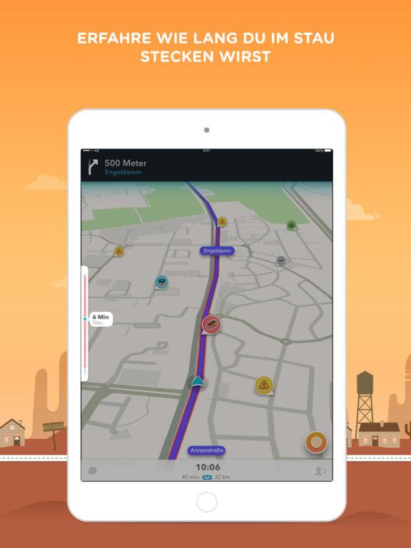 Waze - GPS, Karten & Verkehr Screenshot