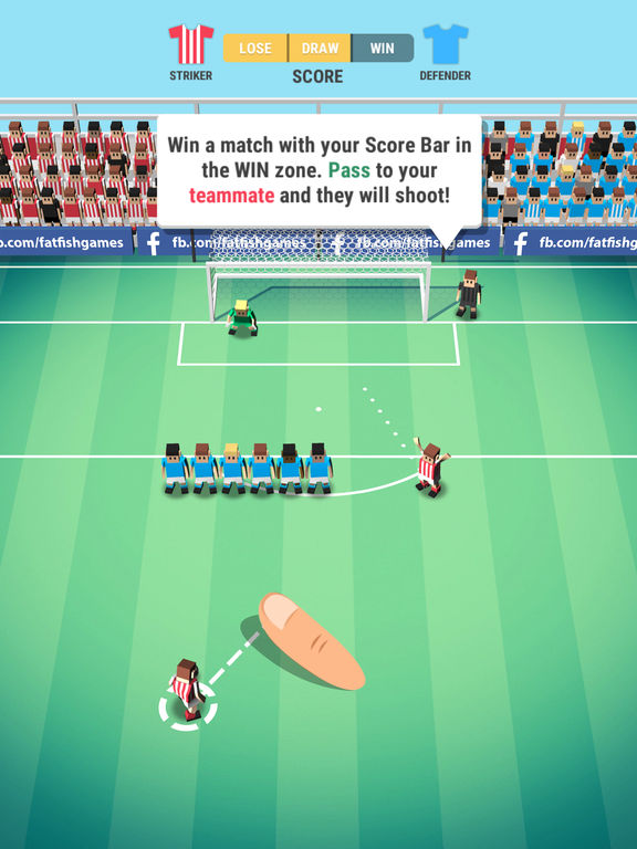 Tiny Striker: World Football iOS Screenshots