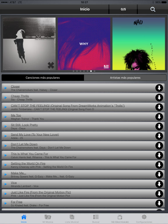 Freegal Music Screenshot