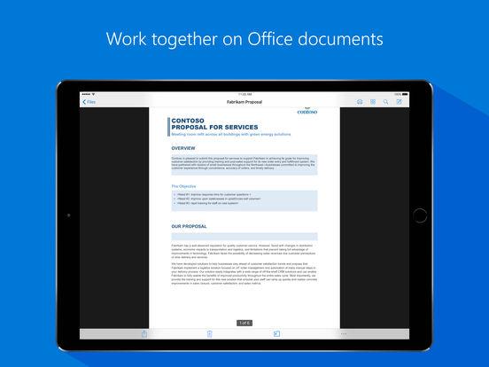 Microsoft OneDrive Capture d'écran