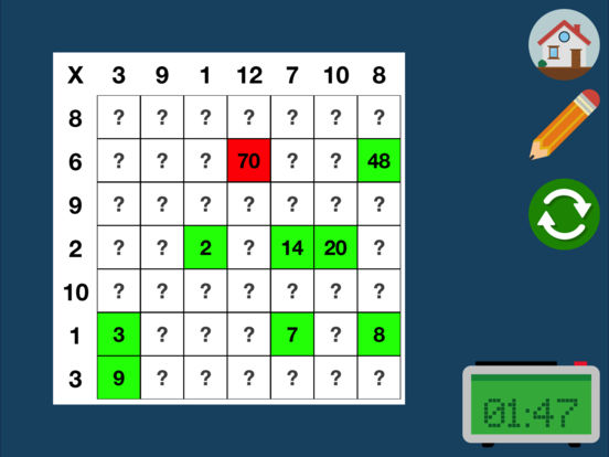Times Tables Screenshots