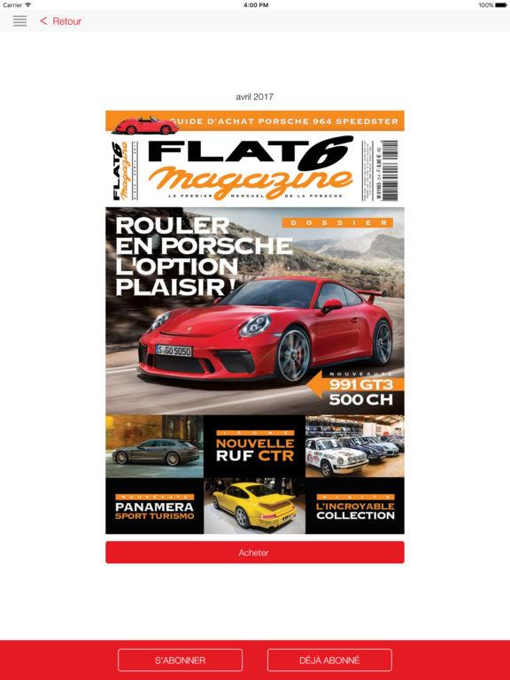 flat 6 magazine dans l app store. Black Bedroom Furniture Sets. Home Design Ideas