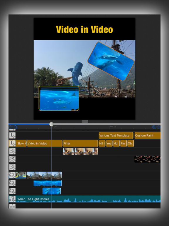 MovieSpirit - Professional Movie Maker Screenshot