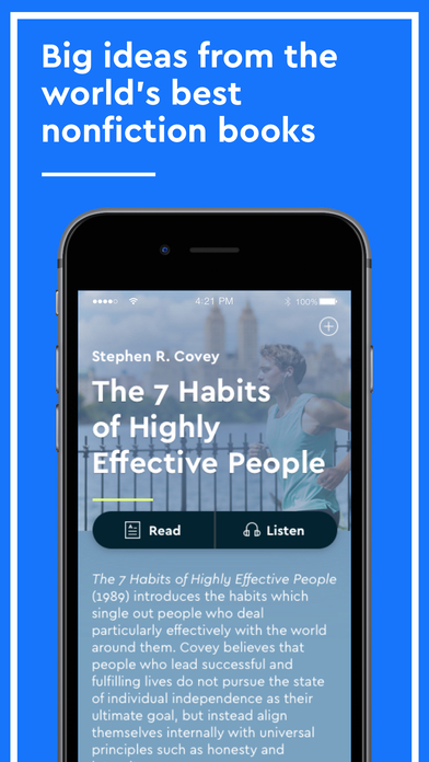 download Blinkist - Nonfiction Book Notes in Audio & Text appstore review