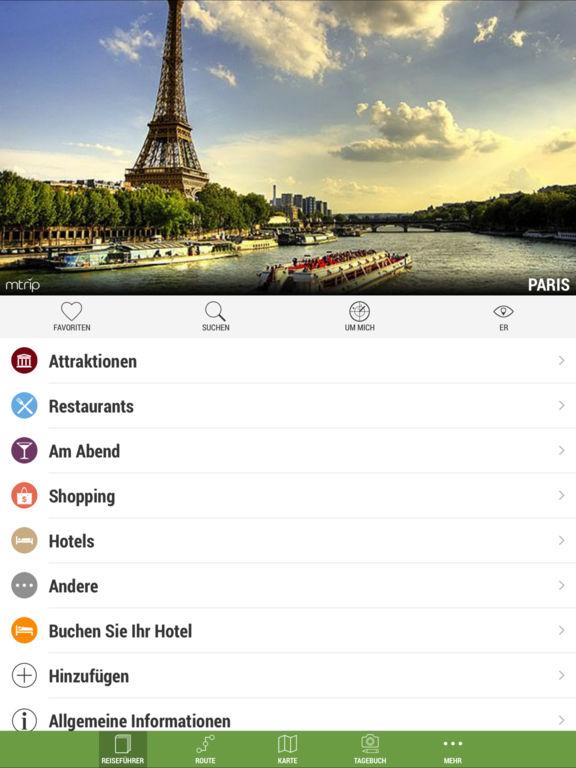 Paris Reiseführer (mit Offline Stadtplan) - mTrip Screenshot