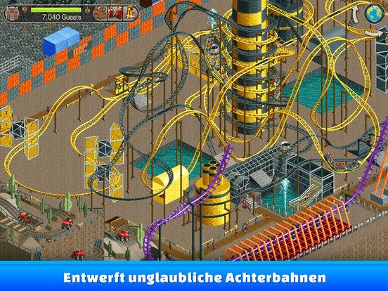 RollerCoaster Tycoon® Classic iOS Screenshots