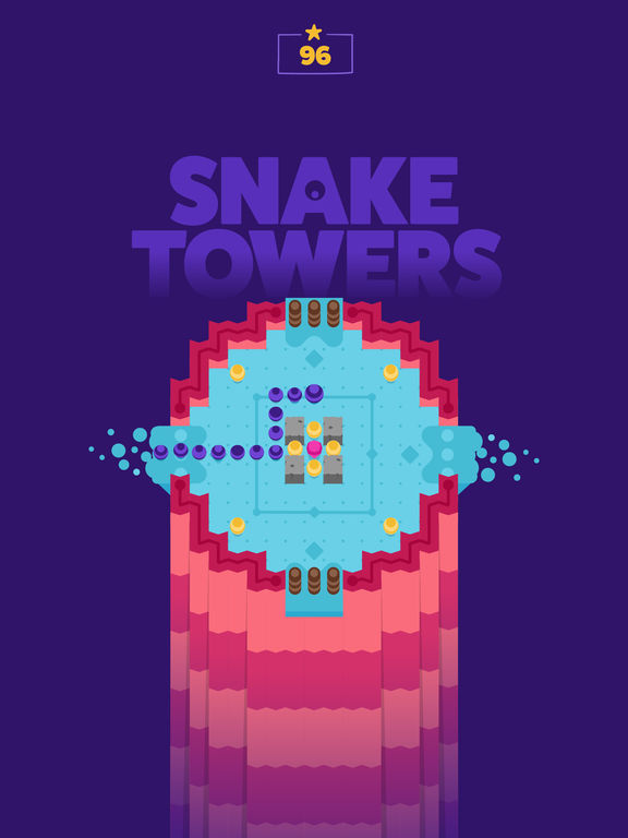 Screenshot 1 Snake Towers