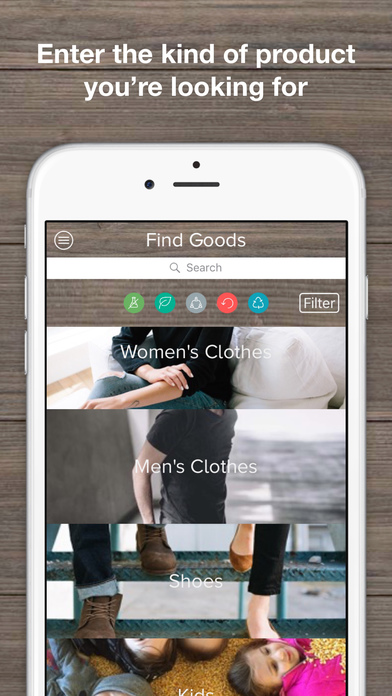 download DoneGood - Changing Mobile Shopping for Good apps 1