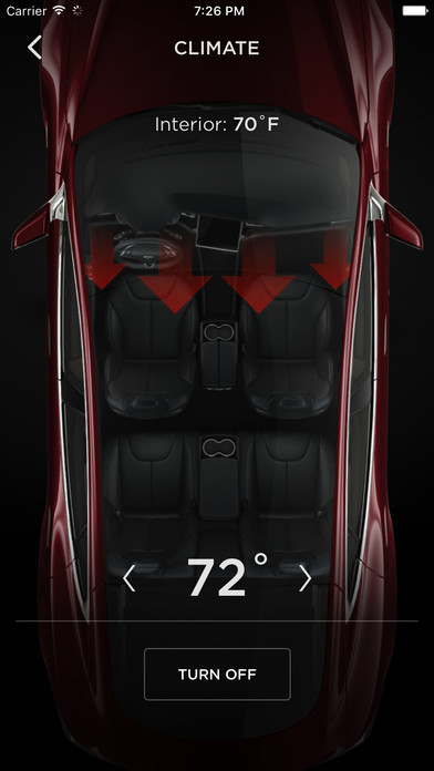 Tesla Motors Screenshot