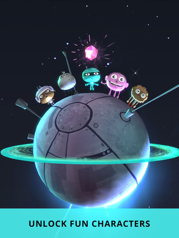 Orbit's Odyssey - Mystery Planet Puzzle Logic Game Screenshots