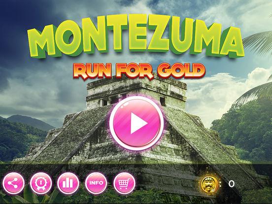 Run for Gold - Montezuma Screenshot