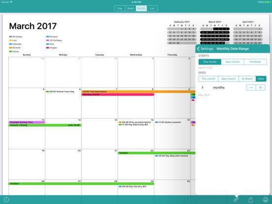 Cal Printer - Print Your Calendar Screenshot