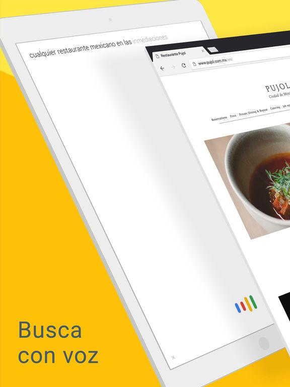 Chrome, el navegador web de Google Screenshot