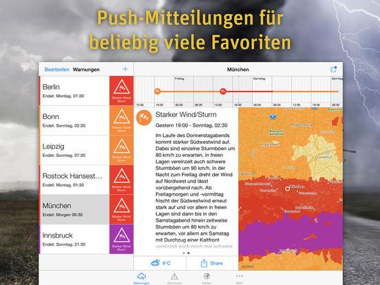 AlertsPro - Unwetterzentrale.de Screenshot