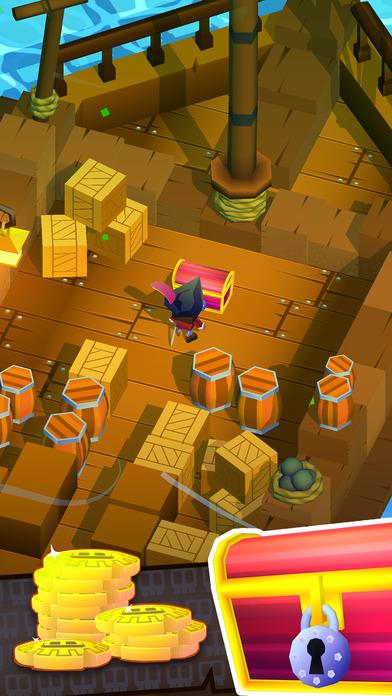 Screenshot 4 Blocky Pirates