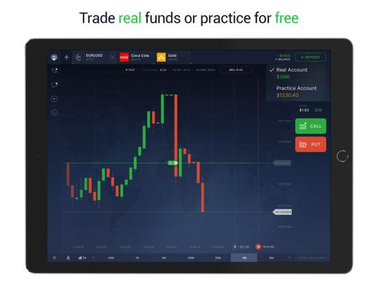 Binary option trading app