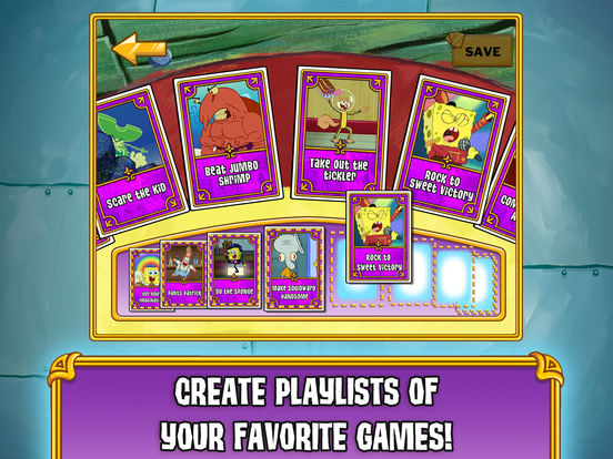 SpongeBob's Game Frenzy Screenshots
