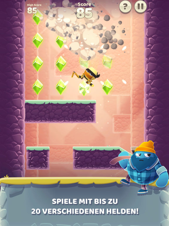 Screenshot 4 Canyon Crash - Freier Fall
