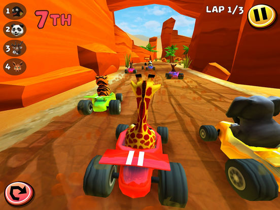 Screenshot 3 Safari Kart