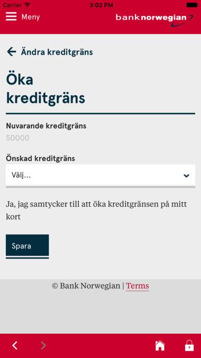 bank norwegian logga in