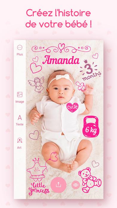 download Souvenirs de bambins - Éditeur photo de votre bébé apps 0
