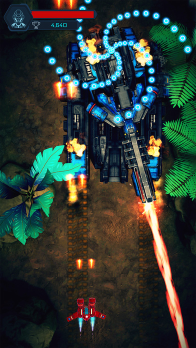 Galactic Attack: Alien iOS Screenshots